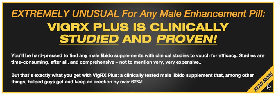 Vigrx Plus Clinical Studied And Proven