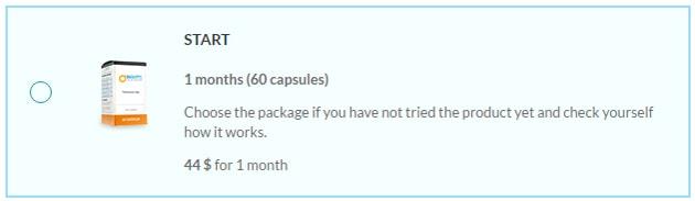 1 Bottle Maxatin Tablets - 60 Capsules