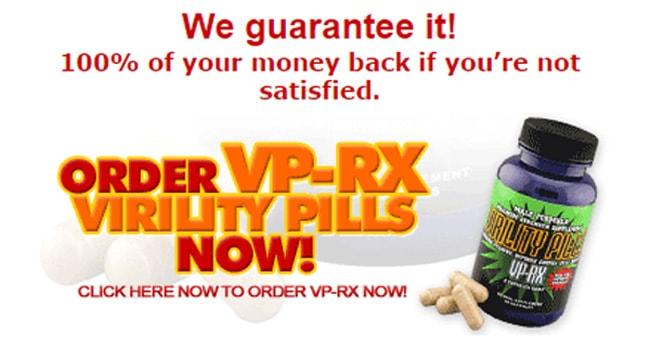 Vp Rx Virility Pills Guarantee Order Online