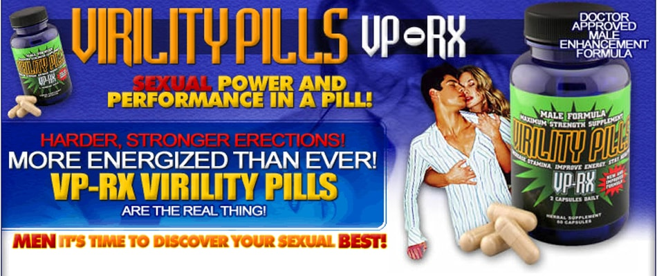 Vp Rx Virility Pills